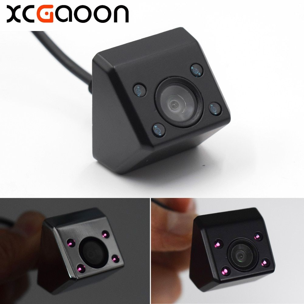XCGaoon Classic CCD Car Rear View Camera 140 Degree Wide <font><b>Angle</b></font> Waterproof Real 4 IR lights Night Vision Reversing Assistance