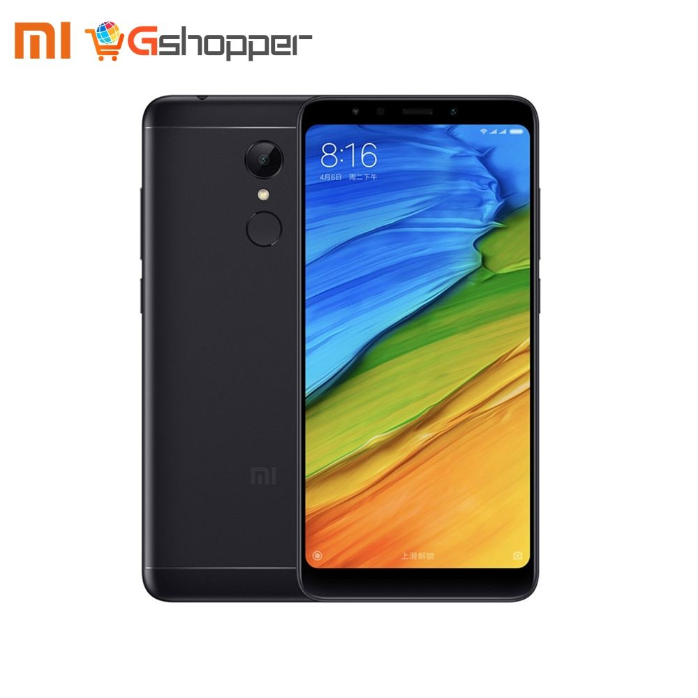 Global Version Xiaomi Redmi 5 2GB 16GB/3GB 32GB Smartphone 5.7 18:9 Display Snapdragon 450 Octa Core 12MP Camera Fingerprint