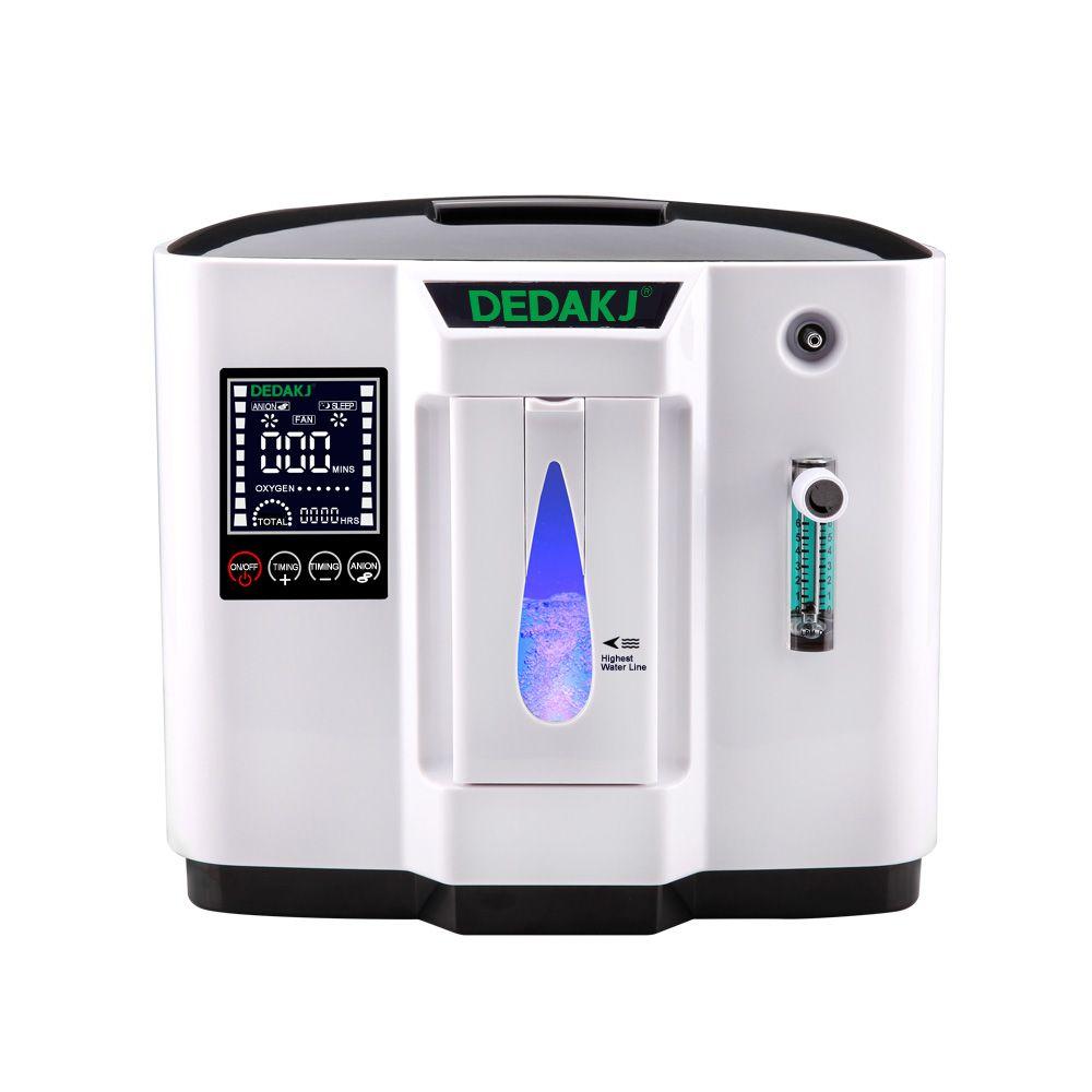 DEDAKJ DDT-1A/1B AC110V/220 V Einstellbare Portabl Sauerstoff Konzentrator Maschine Generator Luftreiniger Hause Ohne Batterie 2 stile