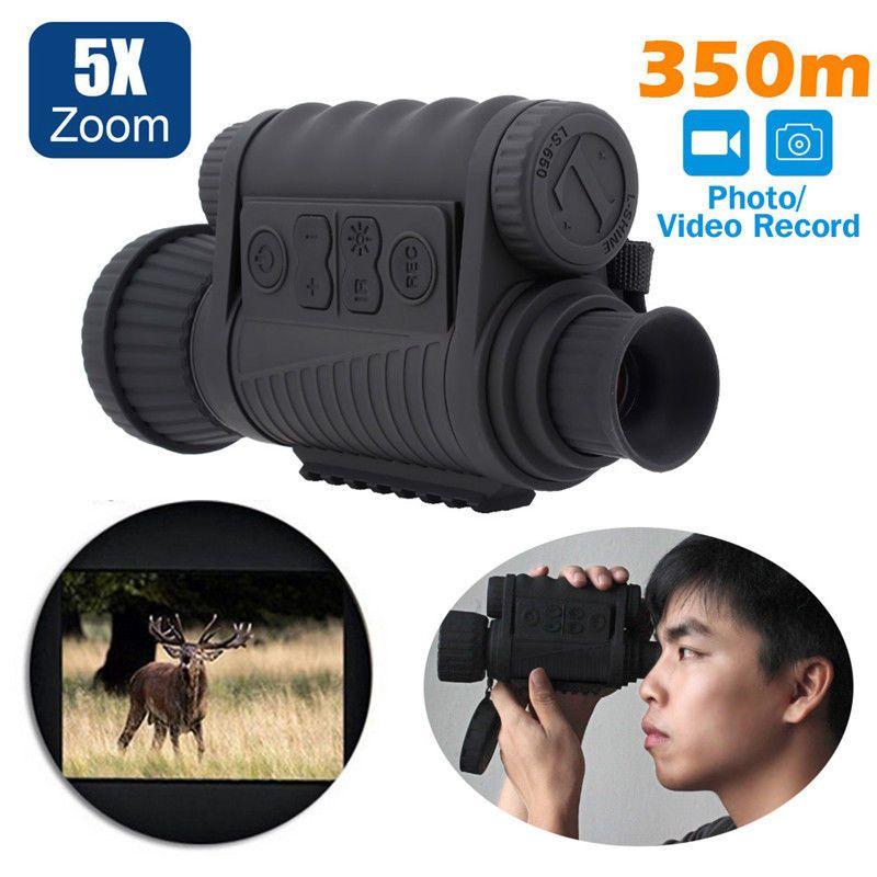 Freies verschiffen! LS-650 Nachtsicht Anblick Monokulare Noch & Video Capture Digital 6x50 DVR