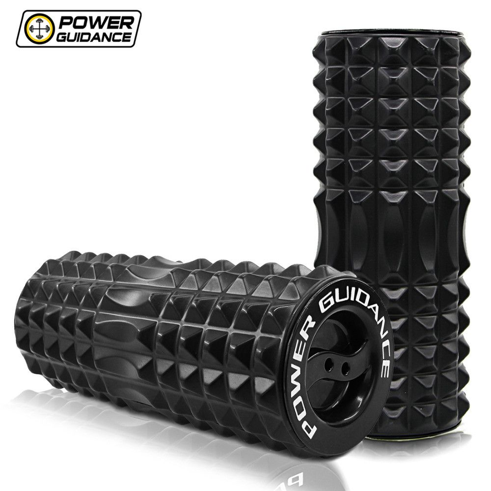 Fitness High Density Foam Roller Rollers For Exercise Back Muscles Pilates Yoga Training Physical Massage Therapy