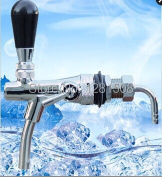 New homebrew kegging beer tap for beer kegs,Flow Control beer faucet,homebrew making tap,brass draft beer tap free shipping