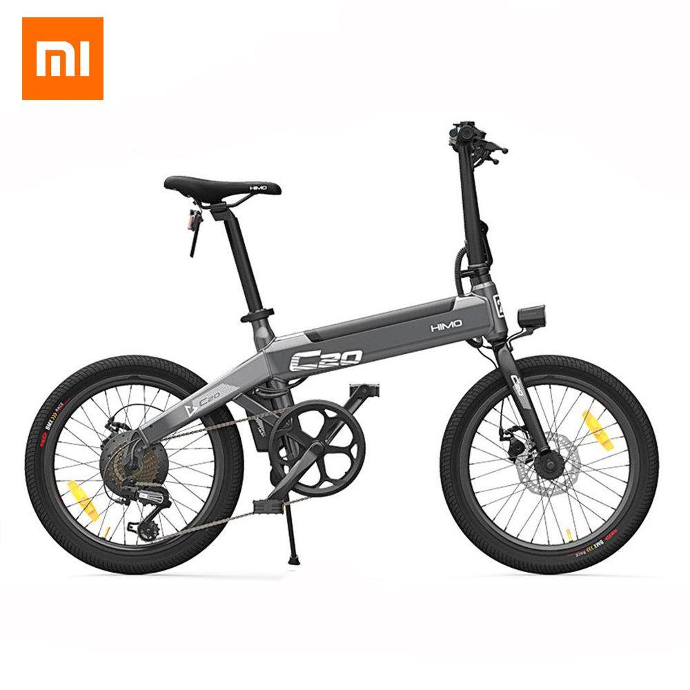 [Kostenloser Duty] Xiaomi HIMO C20 Faltbare Elektrische Moped Fahrrad 250 W Motor 25 km/h Versteckte Inflator Pumpe Shimano variable Speed Drive
