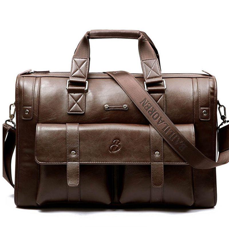 Brand Business Briefcases laptop handbag men's shoulder Crossbody bag fashion Luxury Casual Large capacity Travel bag handbags