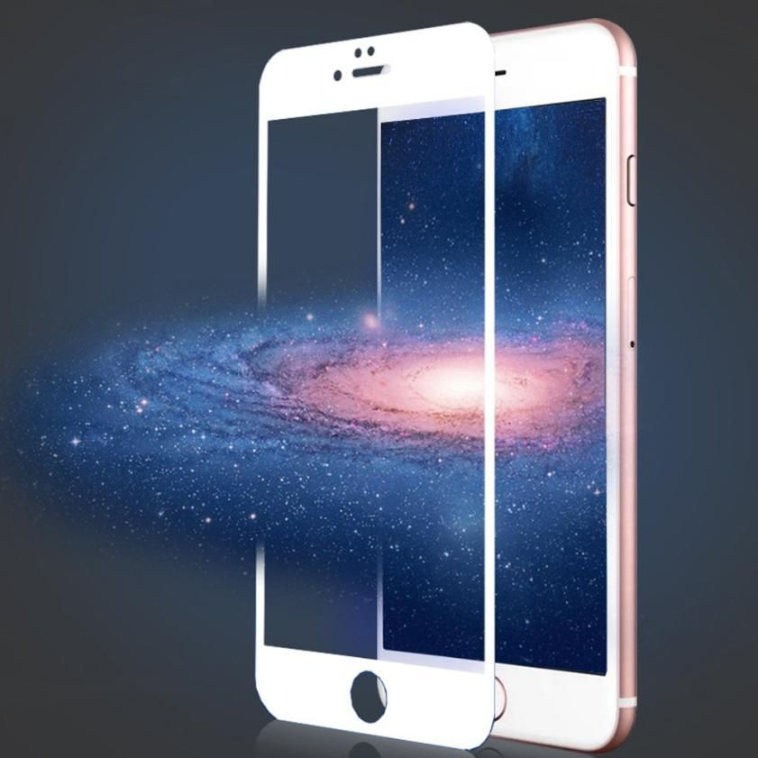HD Full Coverage Blue Ray Tempered Glass Screen Protector For iphone 8 Plus 5.5inch drop shipping oct31