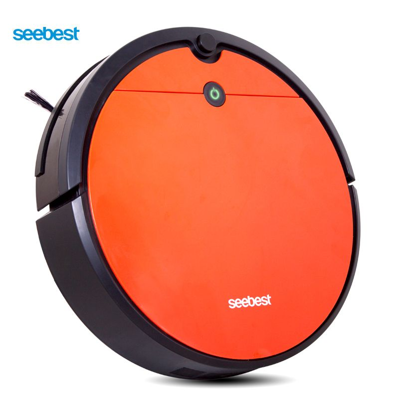 Seebest D751 TURING 1.0 Plus Vacuum Clean Robot with Wet Mopping and Gyroscope Planned Clean Route, Time Schedule, Auto Recharge