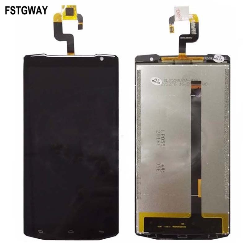FSTGWAY 100% Tested For Oukitel K10000 LCD Display+Touch Screen Digitizer Assembly+Free Tools