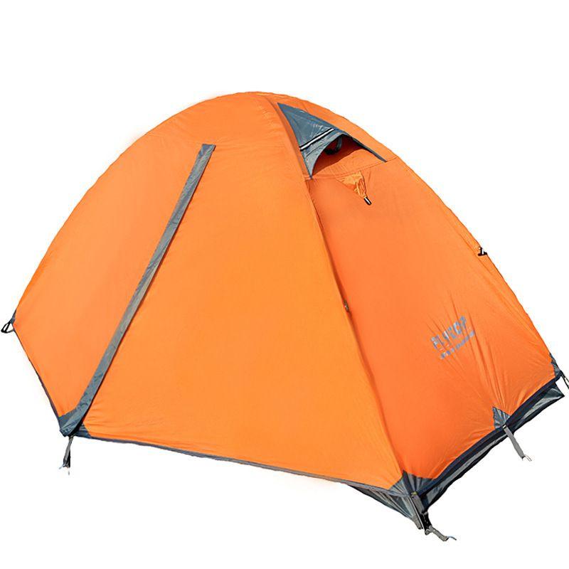 2 schicht 1 person ultraleichte aluminiumstange anti regen wandern angeln strand bergsteigen outdoor camping zelt, eine person zelt