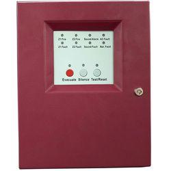 2 مناطق النار لوحة التحكم في جهاز الإنذار مع AC مدخلات الطاقة جهاز إنذار حرائق التحكم نظام الحريق التقليدية لوحة التحكم