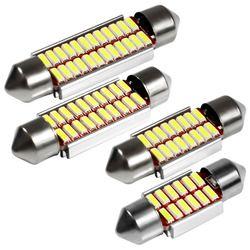 Гирлянда 31 мм 36 мм 39 мм 42 мм светодиодные лампы C5W C10W супер яркий 4014 SMD CANBUS ОШИБОК авто Интерьер doom лампы стайлинга автомобилей свет