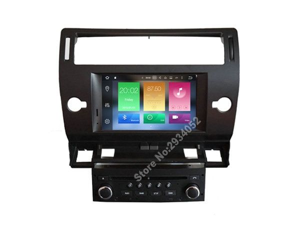 FOR CITROEN C4 Android 8.0 Car DVD player Octa-Core (8Core) 4G RAM 1080P 32GB ROM WIFI gps car multimedia auto stereo
