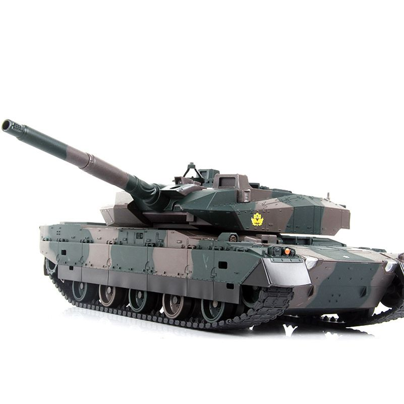 40CM Camouflage RC Tank Model Electric Remote Control Tank Toys For Children Boys Birthday Gifts Learning Toy Electronic Games