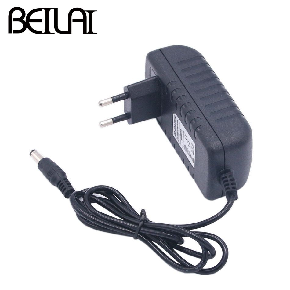 BEILAI DC 12V Power Adapter AC100-240V Lighting Transformers Output DC 12V 1A 2A 3A Switching Power Supply For LED Strip
