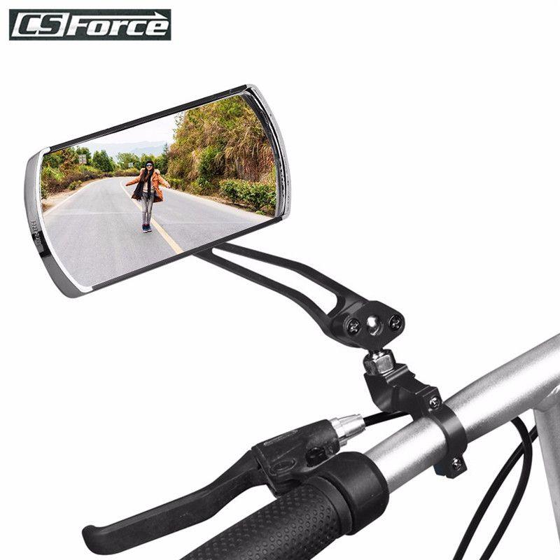 Miroir vélo vtt vélo de route rétroviseur vélo guidon arrière oeil mort rétroviseur Flexible de sécurité rétroviseurs vélo