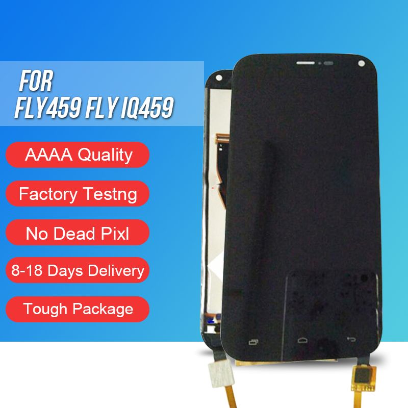 ACKOOLLA Mobile Phone LCDs for fly459 FLY IQ459 Mobile Phone Accessories Parts Mobile Phone LCDs Touch Screen