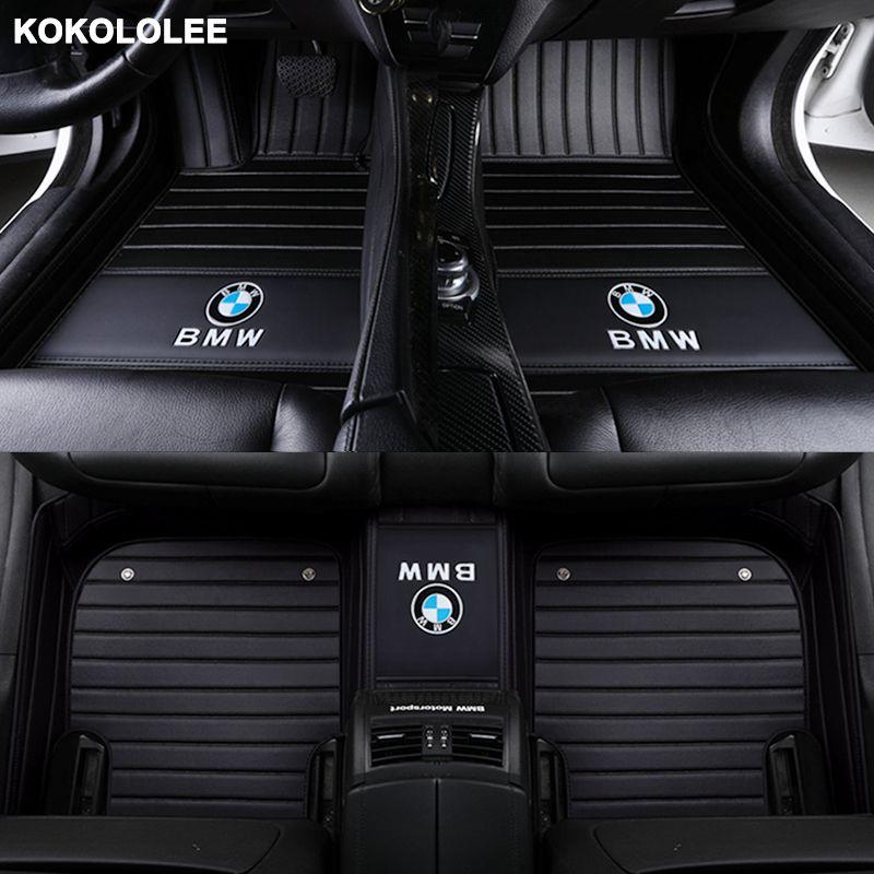 Kokololee Custom car fußmatten Für Audi alle modell A1 A3 A4 A5 A6 A8 A7 Q3 Q5 Q7 S3 s5 S6 S7 S8 R8 TT SQ5 SR4-7 auto styling