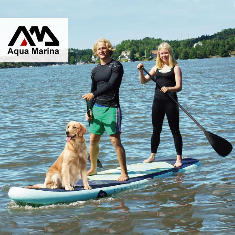 370*87*15CM AQUA MARINA SUPER TRIP inflatable sup stand up paddle board inflatable surf board surfboard inflatable kayak camera