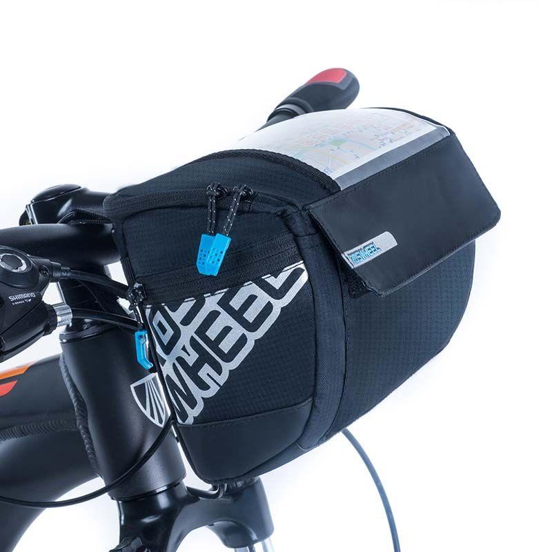 ROSWHEEL 3L Fahrrad Lenker Bag Packtaschen 400D PVC Karte MTB Rennrad Taschen Radfahren Taschen Korb Bike Zubehör 2018