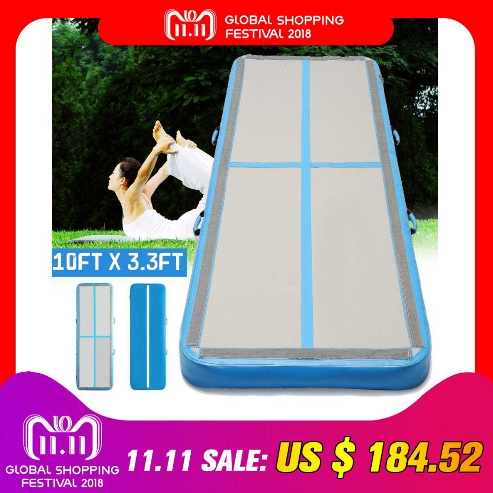 AirTrack 100 x300x10cm Aufblasbare Günstige Gymnastik Matratze Gym Wäschetrockner Air track Boden Taumeln Air Track Für Verkauf