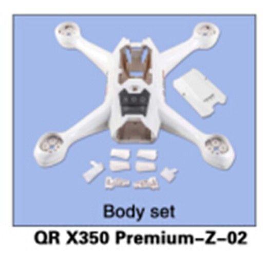 Walkera QR X350 Premium-Z-02 Body Set for Walkera QR X350 Premium Helicopter
