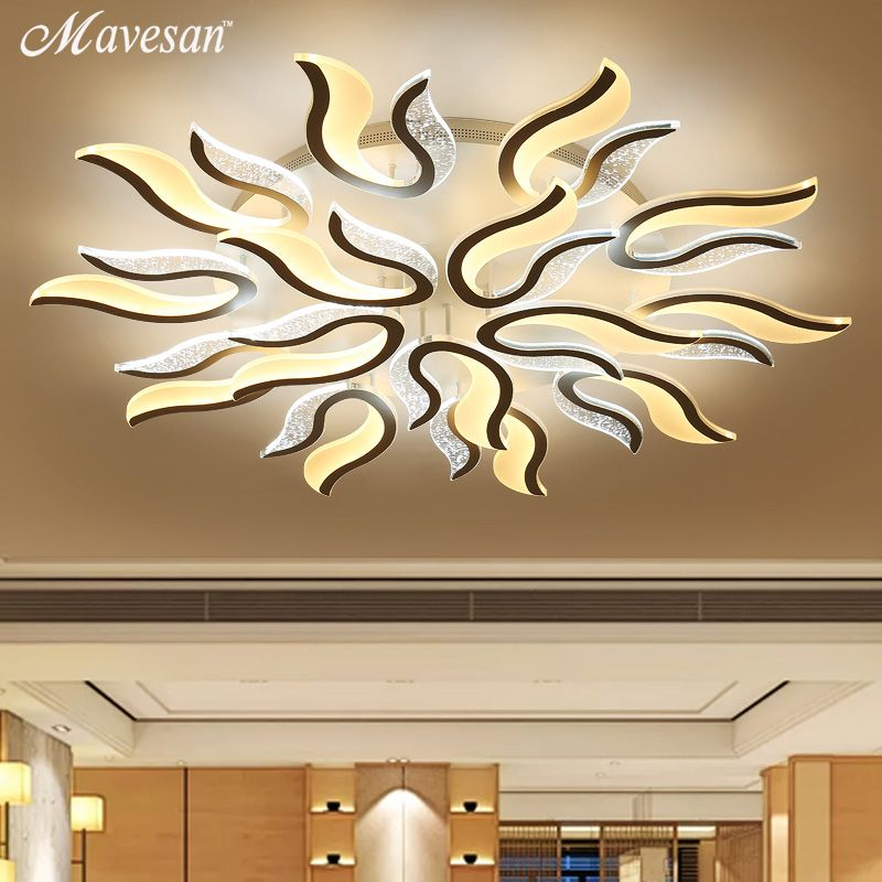 2017 modern acrylic LED Ceiling Lights for Living Room Ultrathin ceiling lamp  Decorative lampshade Lamparas de techo