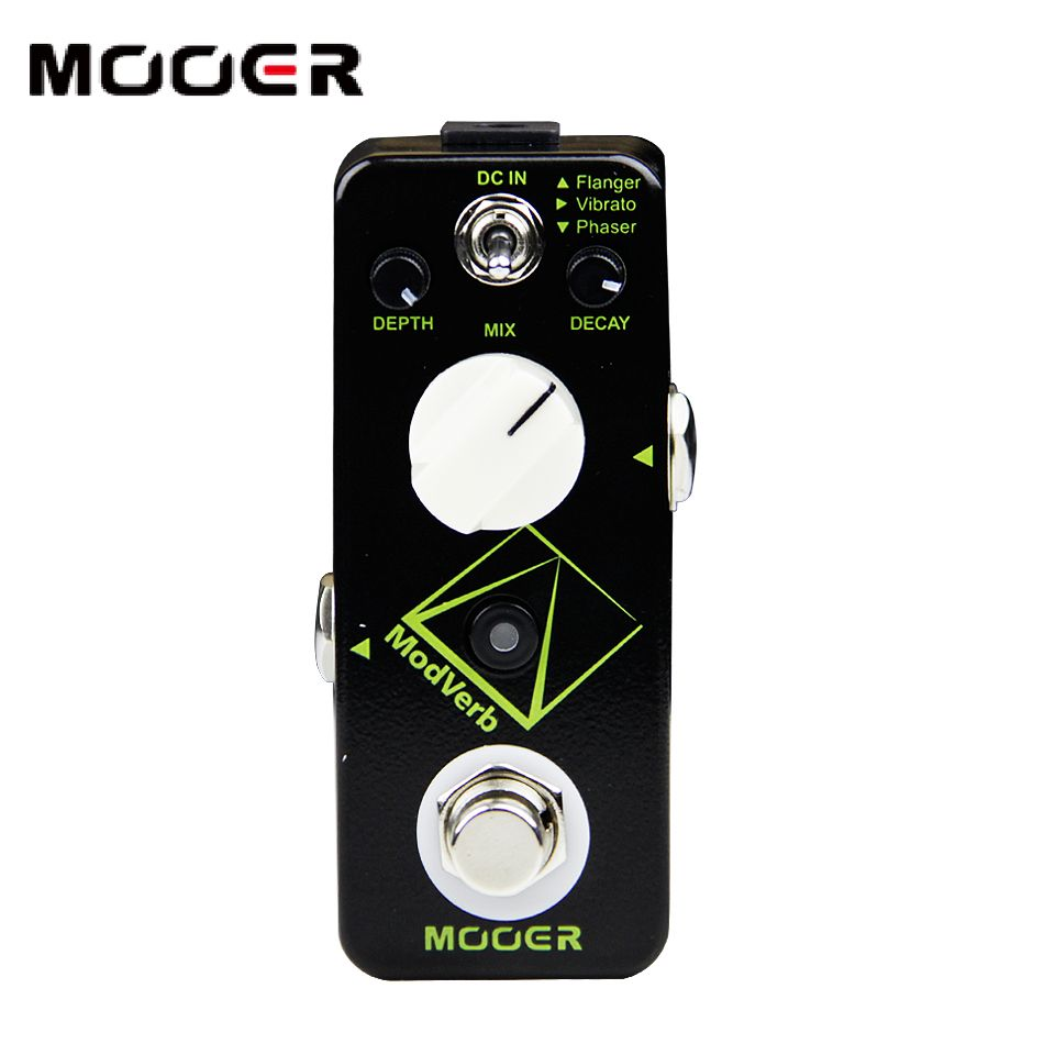 MOOER Modverb modulation Reverb pedal guitar pedal Frozen functionality 3 modulation types