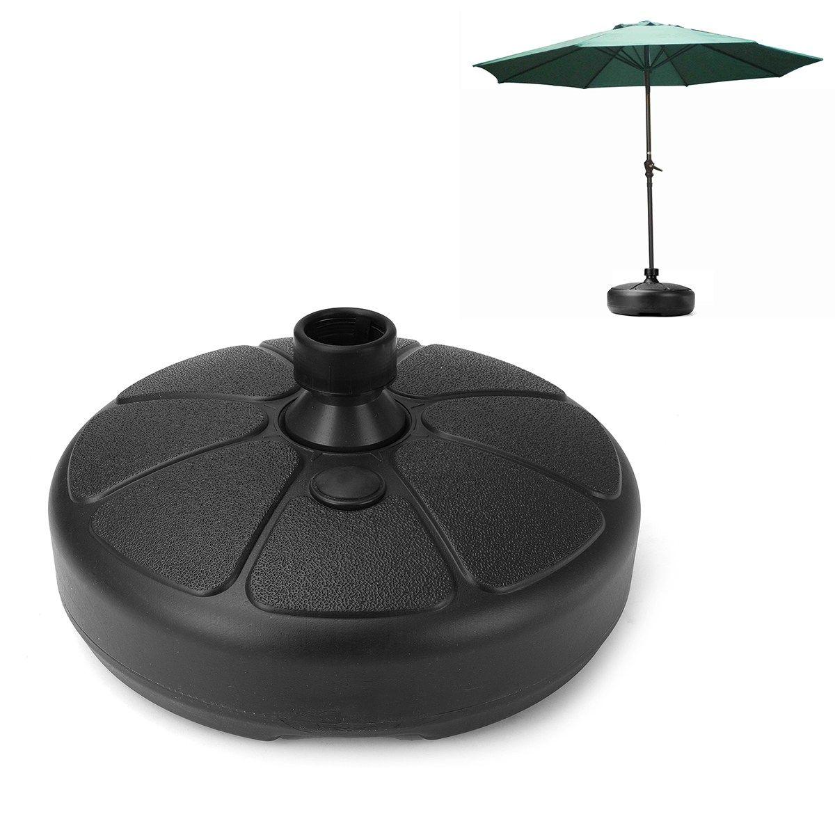 Durable Outdoor Parasol Garden Umbrella Base Stand Round Patio Umbrella Bases Foundation Billboard Holder Sun <font><b>Shelter</b></font> Accessory
