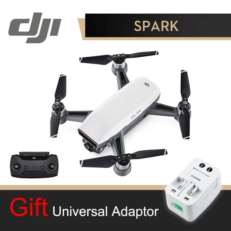 DJI Spark Camera Drone With Controller White 1080P HD Camera Drones Quadrotor RC FPV Quadcopter Sparks Original