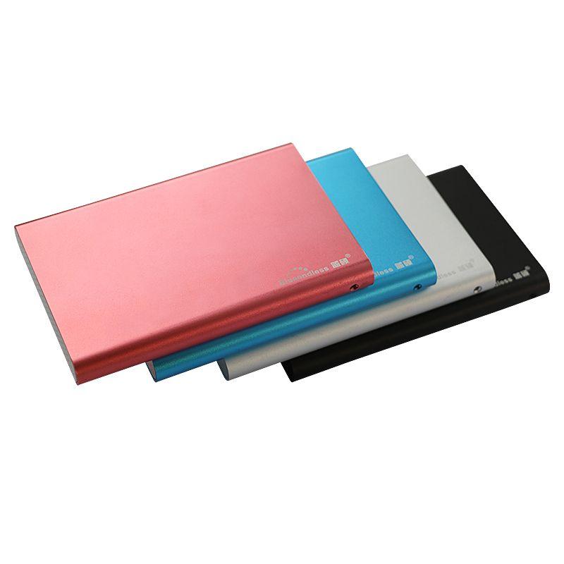 hdd external 2.5 inch protective sata case aluminum hard drive hdd enclosure sata II usb 3.0 hdd box case for 2TB hard disk U23S