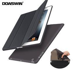 DOWSWIN para iPad 2/3/4 caso PU cuero suave cubierta posterior para el iPad 4 caso Flip Smart cubierta para iPad 2 Case Auto Sleep/Wake Up