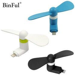 BinFul Haute Qualité Portable gadget Téléphone Mini Électrique Ventilateur Refroidisseur Pour iPhone 5/5S/5c/SE/6/6 plus/6 s/6 s plus/6 s/7/7 plus/8 Plus