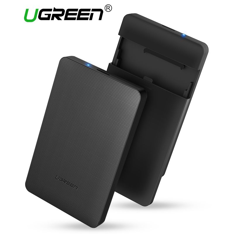 Ugreen HDD Enclosure 2.5 <font><b>inch</b></font> SATA to USB 3.0 SSD Adapter Hard Disk Drive Box for Samsung Seagate SSD 1TB 2TB External HDD Case