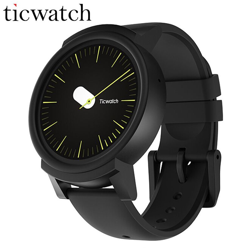 Original Ticwatch E Expres Smart Watch Android Wear OS Dual Core Bluetooth 4.1 WIFI GPS Smartwatch Phone IP67 Smart Photo Watch