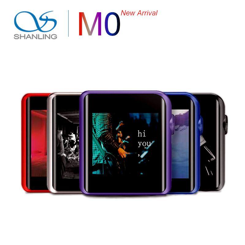 SHANLING M0 ES9218P 32bit /384kHz Bluetooth AptX LDAC DSD MP3 FALC Portable Music Player Hi-Res Audio