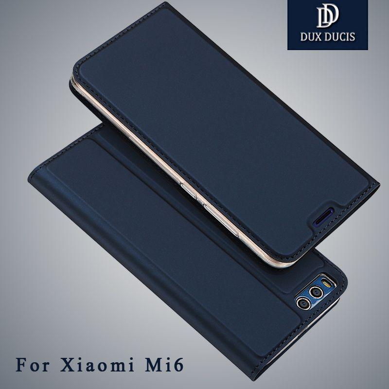 Xiaomi mi 6 case xaomi Dux Ducis Brand Wallet Leather Case xiaomi mi6 pro prime case Stand Flip Cover For xiaomi mi6 cases 5.15