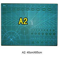 1 шт./лот прочный двухсторонний A2 в заклеенном виде 60 см х 45 см режущий диск для фигурной резки мат для DIY инструмент и канцелярских товаров и ...
