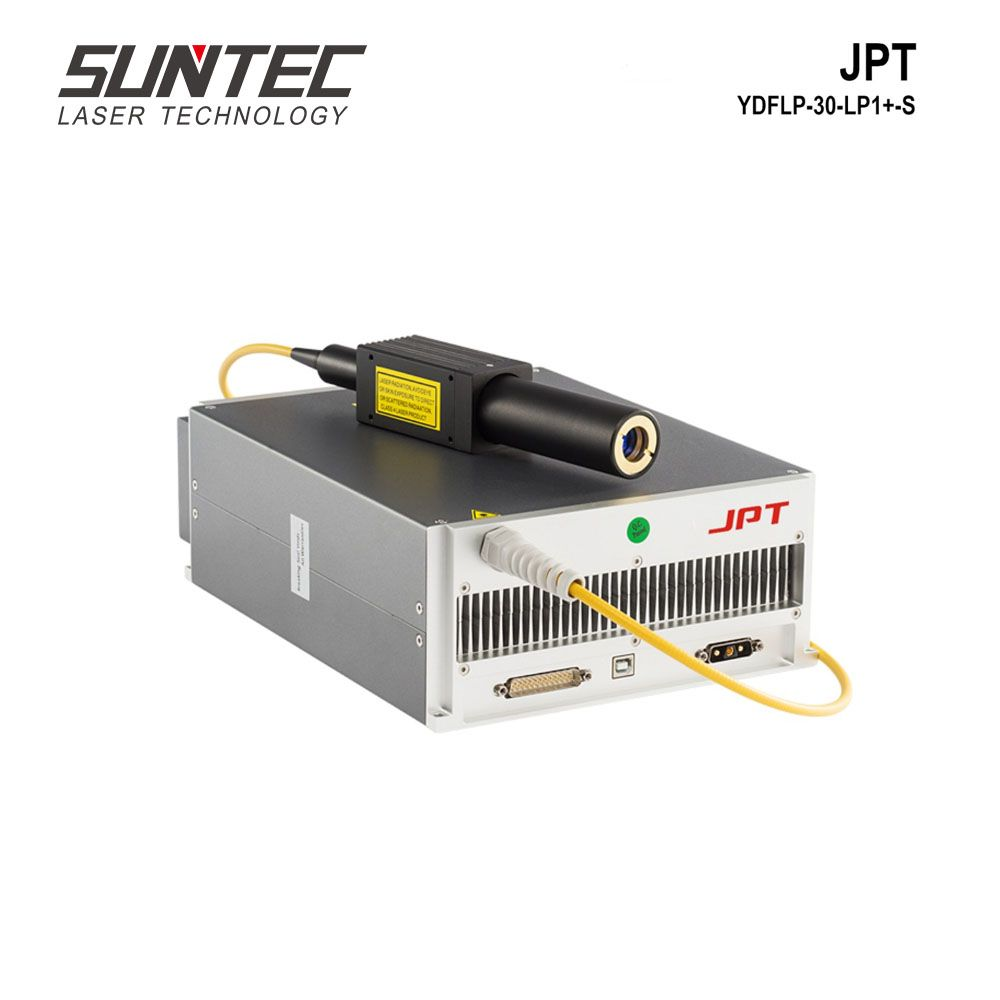 Suntec Faser Laser Quelle 30W JPT YDFLP-30-LP1-S MOPA Faser Laser Generator Mopa Laser Quelle für Faser Laser Kennzeichnung Maschine