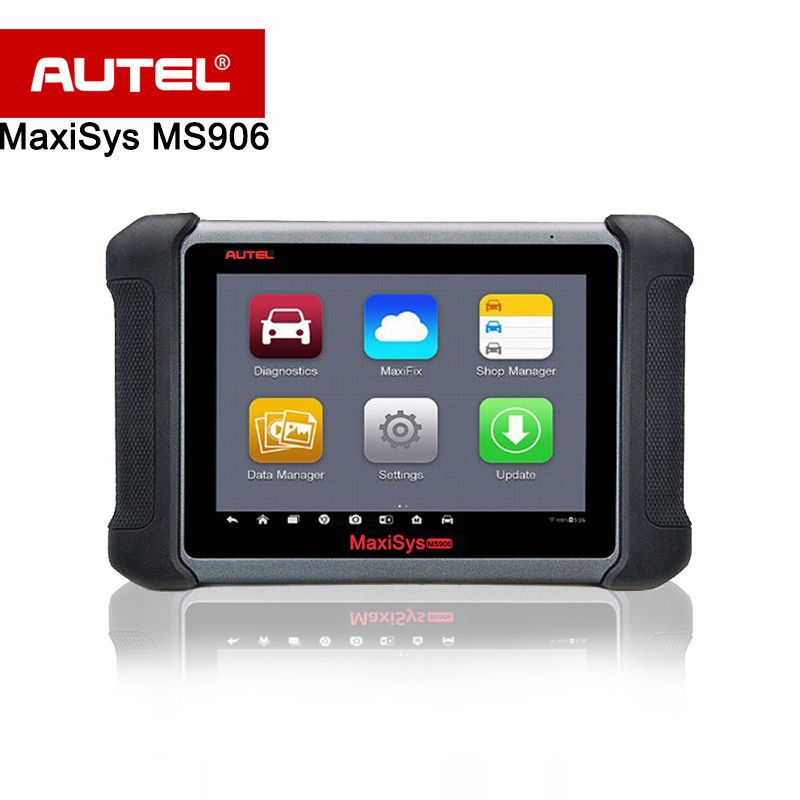 Original AUTEL MaxiSys MS906 Wireless Car Diagnostic Tool obd2 MaxiSys Pro Scanner Better than MaxiDAS DS708 & DS808