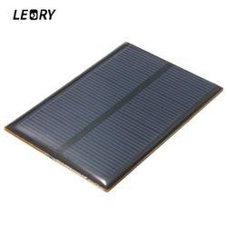 Leory 5 В 1.25 Вт 250ma монокристаллического кремния Смола солнечных панелей модуля комплекты мини солнечных батарей для зарядки мобильного телеф...