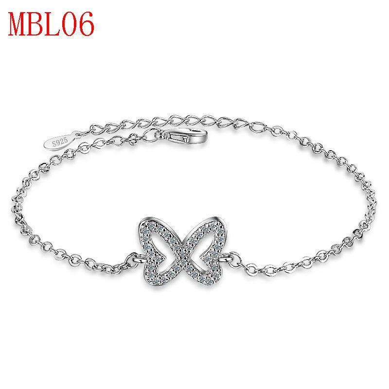new arrive classical jewerly sliver bracelet for men <font><b>couple</b></font> gift MBL06