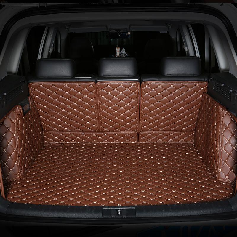 Alle Umgeben Durable Spezielle Kofferraum-matten Für KIA Sorento Carens k5 Sportage K2 K3 K4 KX3 KX5 KX7 Kein Geruch Wasserdicht teppiche