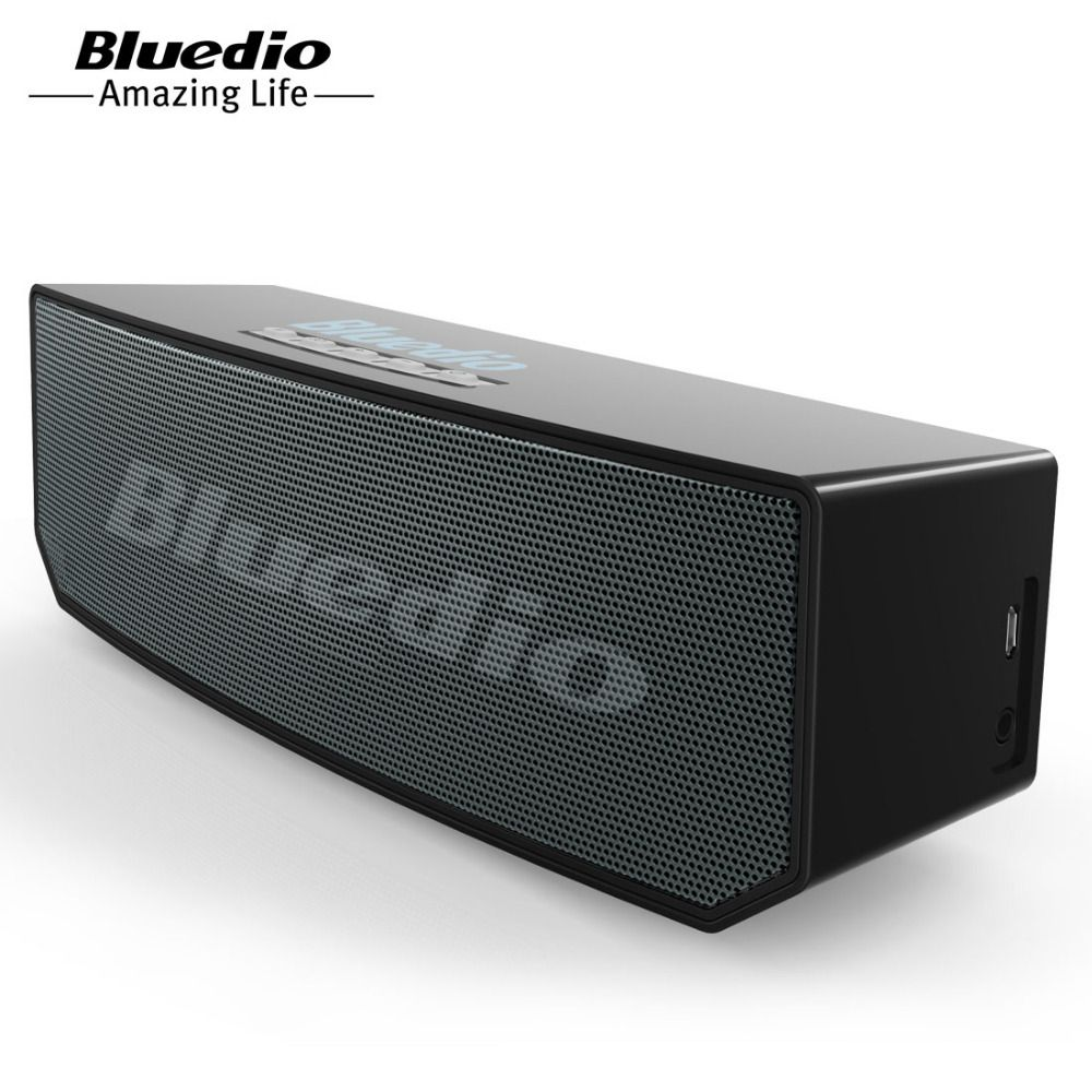 Bluedio BS-5 Mini Bluetooth <font><b>speaker</b></font> Portable Wireless <font><b>speaker</b></font> Sound System 3D stereo Music surround for phones