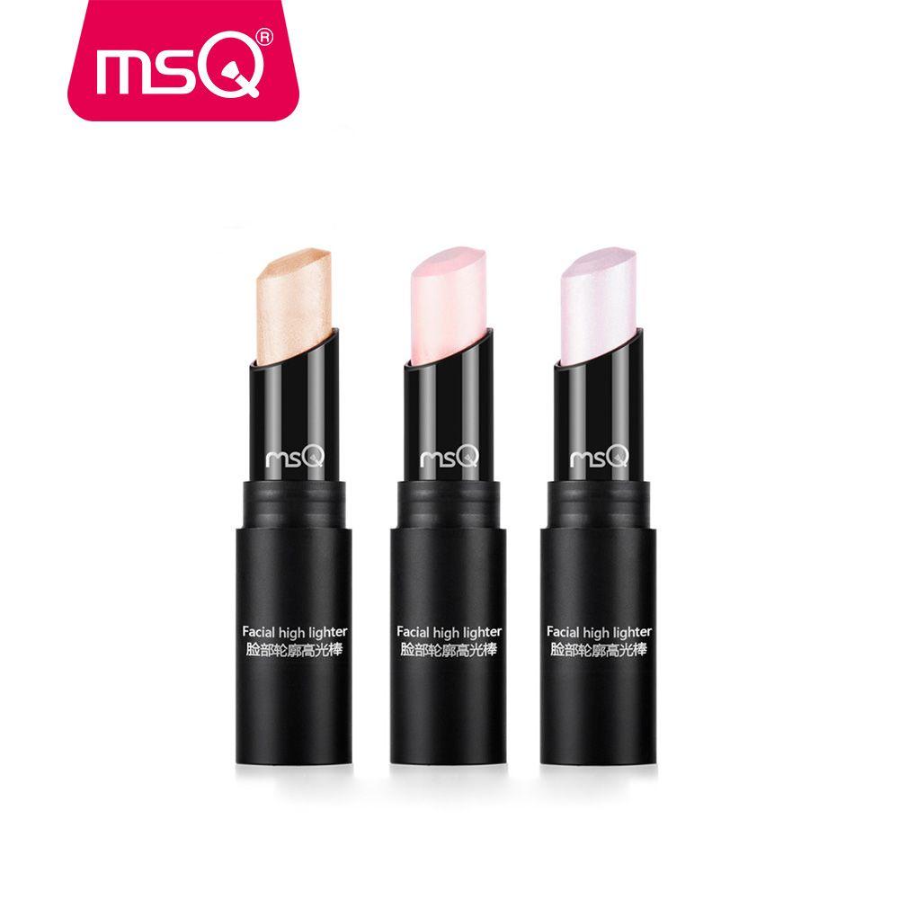 MSQ 3 Couleur Le Contour Du Visage Maquillage Bronzer Shimmer Bâton Surligneur Bâton Stylo Égayer La Peau Visage Bronzer Surligneur Poudre