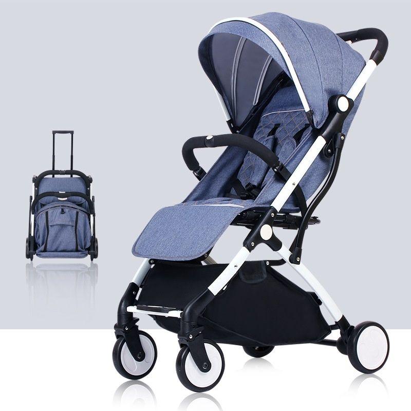 Europa KEINE Steuer Baby Kinderwagen Wagen Auto baby buggy Flugzeug Leichte, Tragbare Reisen Kinderwagen Kinder Kinderwagen kinderwagen