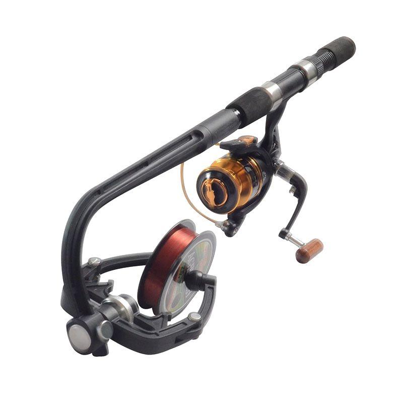 De pêche Ligne Winder Spooler Portable Machine Système Moulinet Spinning Ligne Bobine prix de Gros Dropshiping