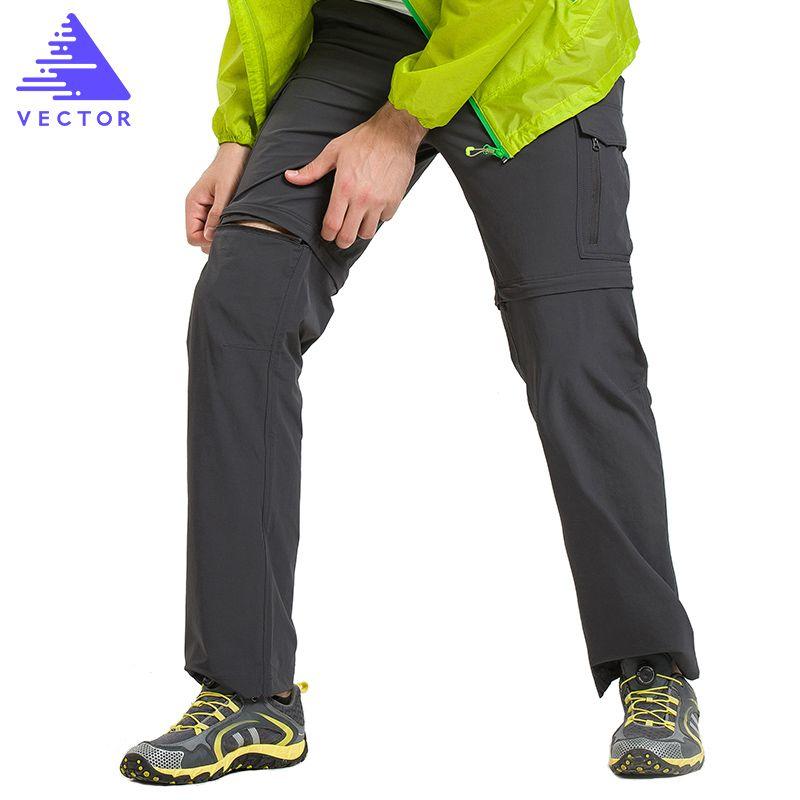 VECTEUR À Séchage Rapide Pantalon Hommes D'été Respirant Camping Randonnée Pantalon Amovible Trekking Chasse Randonnée Pantalon de Randonnée 50021