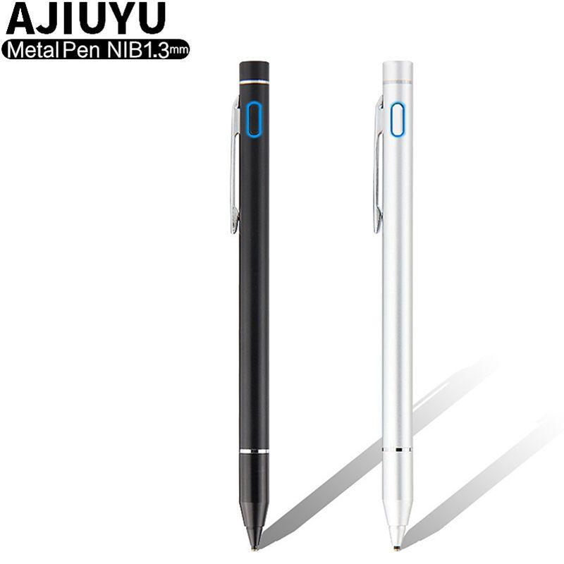 Hohe präzision Stift Aktive Stylus Kapazitiven Touchscreen Für iPad mini 4 3 2 ipad mini4 mini3 mini2 Tabletten Fall NIB1.3mm Bleistift