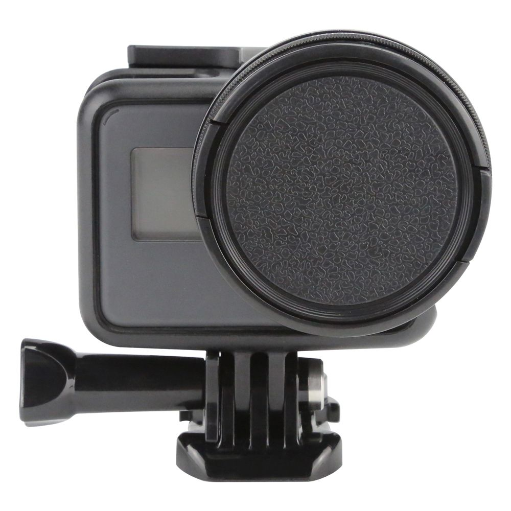 SHOOT Professional 52mm Diameter UV Filter for Gopro Hero6 5 Black Edition Camera with Lens Cover Go Pro 6 5 Filter Accessories