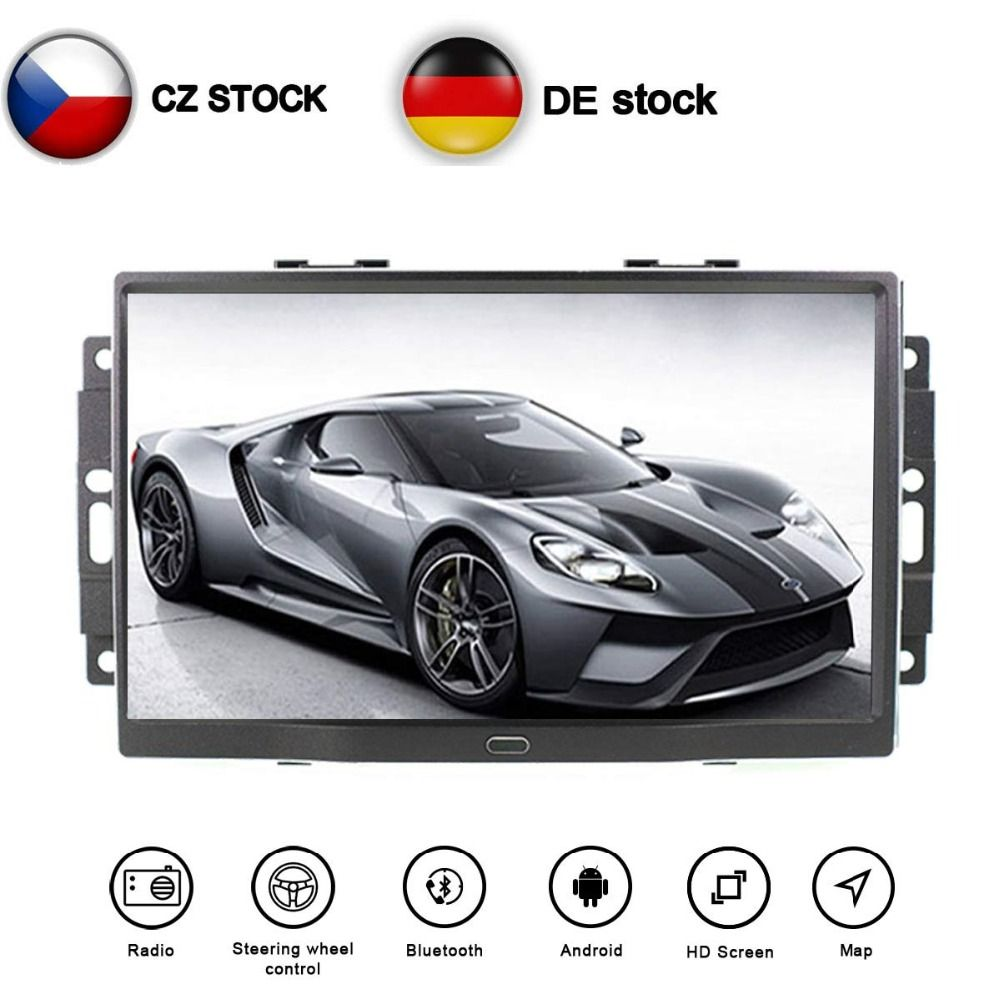 Aotsr 8 core Android 8.1 auto GPS für Chrysler 300C 2000-2014 Auto DVD Player mit GPS 3G 4G WIFI BT SWC Navigation Radio Free Karte