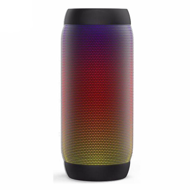 Waterproof LED Portable Column Bluetooth Speakers Soundbar Shockproof HandsFree Super Bass For Cellphone xiaomi iphone computer